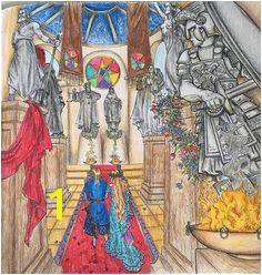 gameofthronescoloringbook gameofthrones fabercastellpolychromos Color Pencil Art Coloring Books Coloring Pages