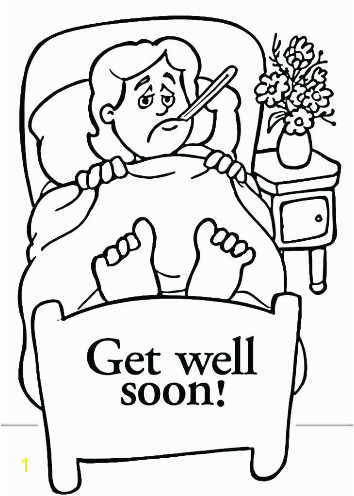 feel better coloring pages for printable well soon coloring pages many interesting on well