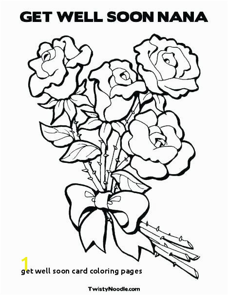 Get Well soon Card Coloring Pages I Love You Grandma and Grandpa Coloring Pages Get Well