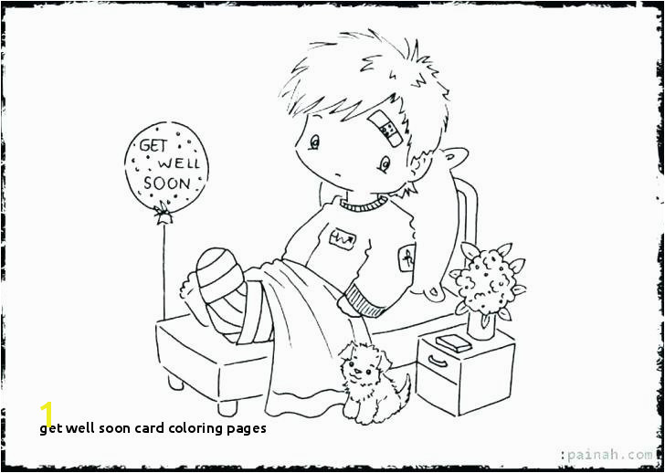 Get Well soon Card Coloring Pages Happy Birthday Great Grandpa Coloring Pages Get Well soon