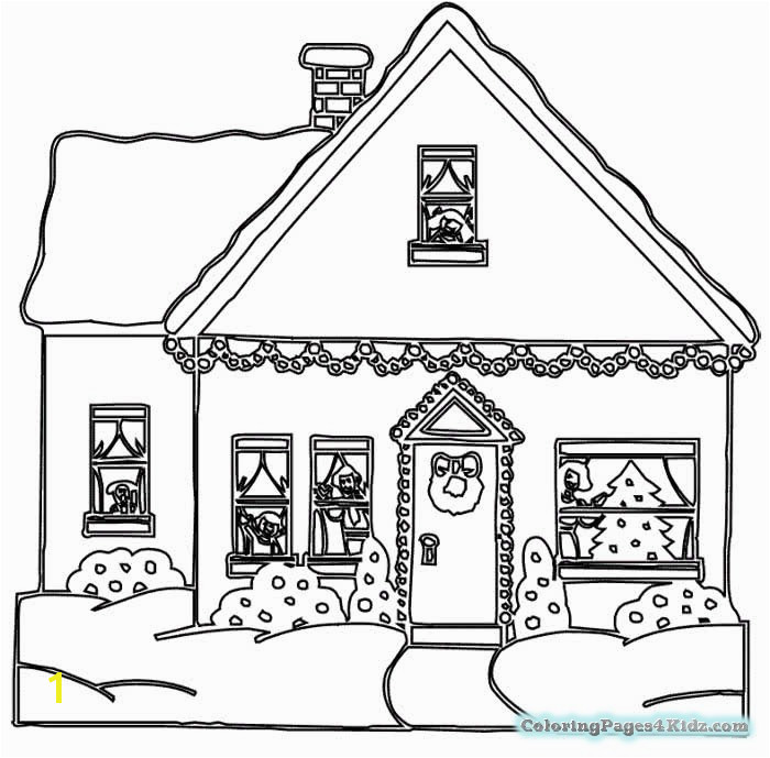 Gingerbread House Coloring Pages Luxury Gingerbread House Coloring Pages