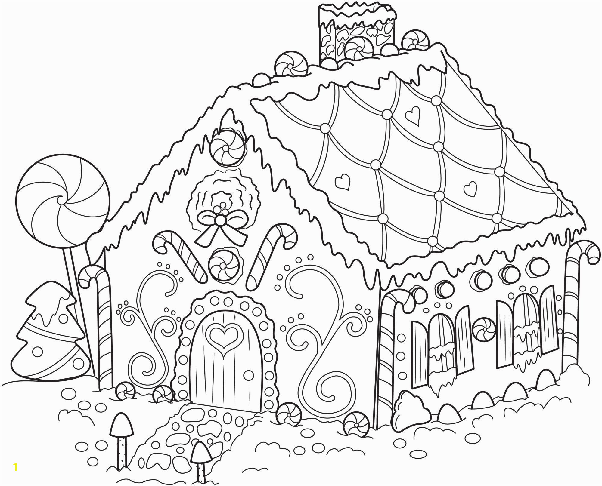 Hansel and Gretel Candy House Coloring Page Free Gingerbread Man Fairy Tale Coloring Pages Coloring Pages