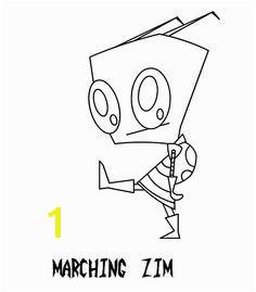 Invader Zim Marching Zim