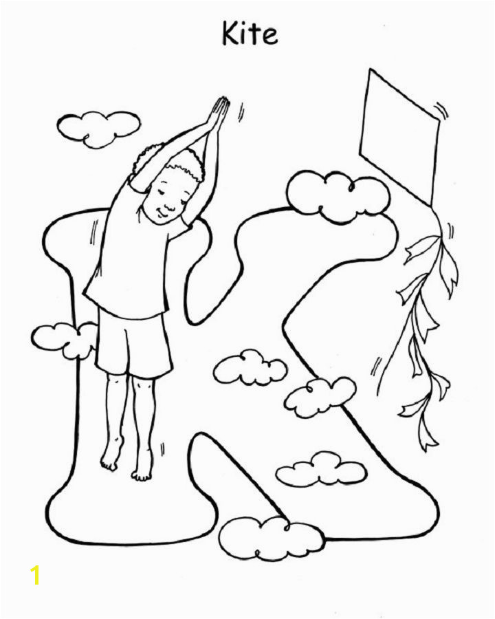 Abc Yoga Coloring Pages