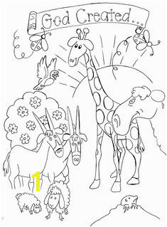 Free Bible Creation Coloring Pages Creation Coloring Pages Coloring Pages For Kids Sunday School
