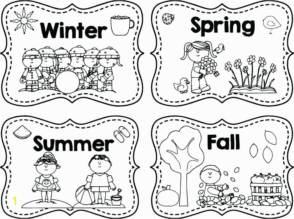 Full Size of 4 Seasons Coloring Pages Winter Weather Colouring The Four Autumn Season Fall Out