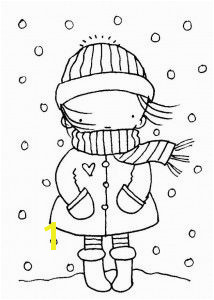 winter season coloring page 2