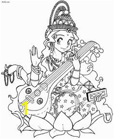 Previous Saraswati Puja Coloring Pages Saraswati Goddess Free Coloring Pages Coloring Sheets Coloring
