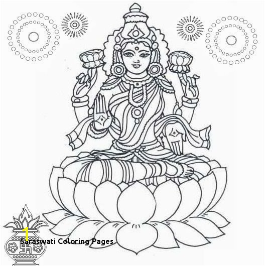 Saraswati Coloring Pages Hindu Gods and Goddesses Coloring Pages Hindu In 2018