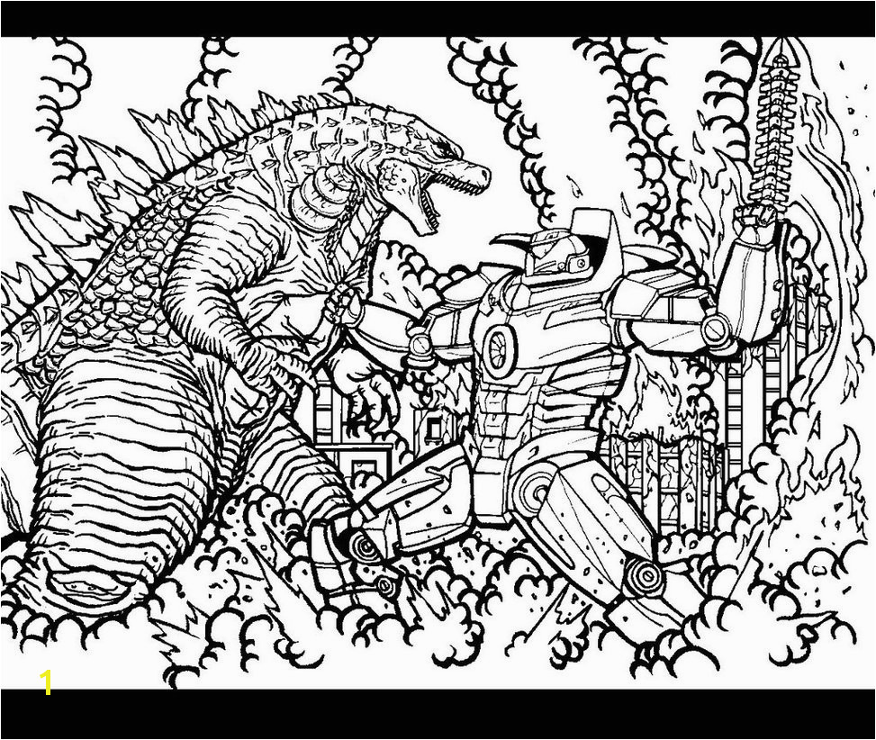Godzilla 2014 Coloring Pages Page Kaseyand Co