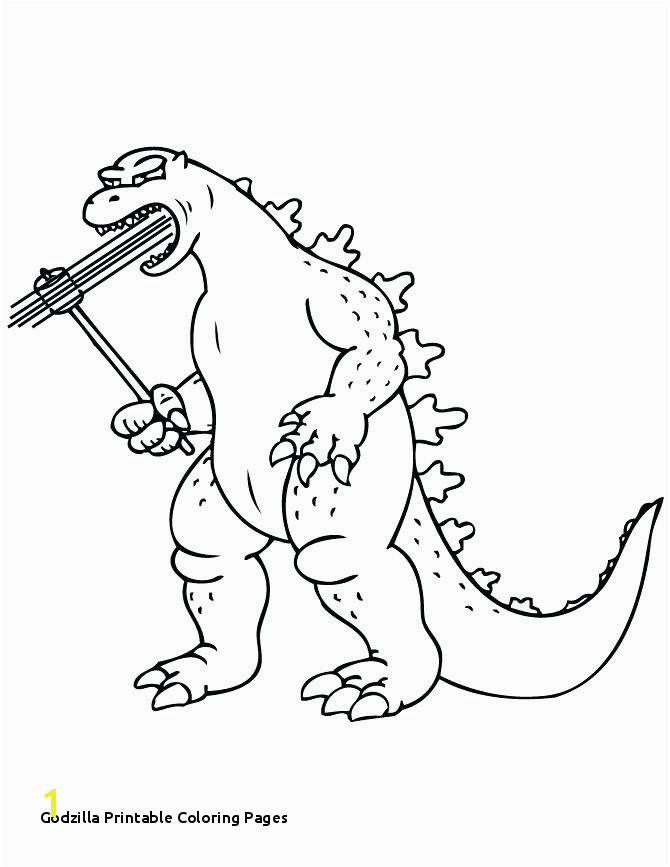 Godzilla Printable Coloring Pages Printable Coloring Pages Free Godzilla 2014 – Rachsl