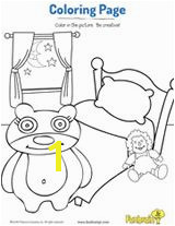 Bedtime Coloring Page Number Worksheets Alphabet Activities Book Characters Colouring Coloring Pages