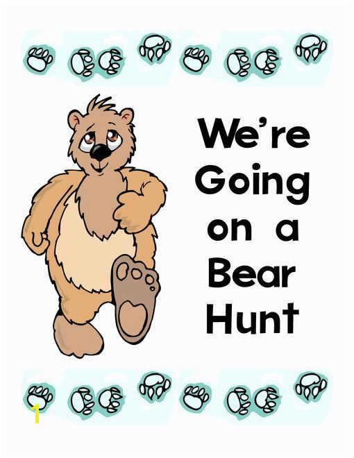 We re Going on a Bear Hunt Lapbook and Printables