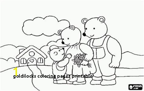 Goldilocks Coloring Pages Printable 13 Goldilocks and the Three Bears Coloring Page