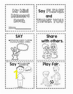 Manners Mini Manners Book