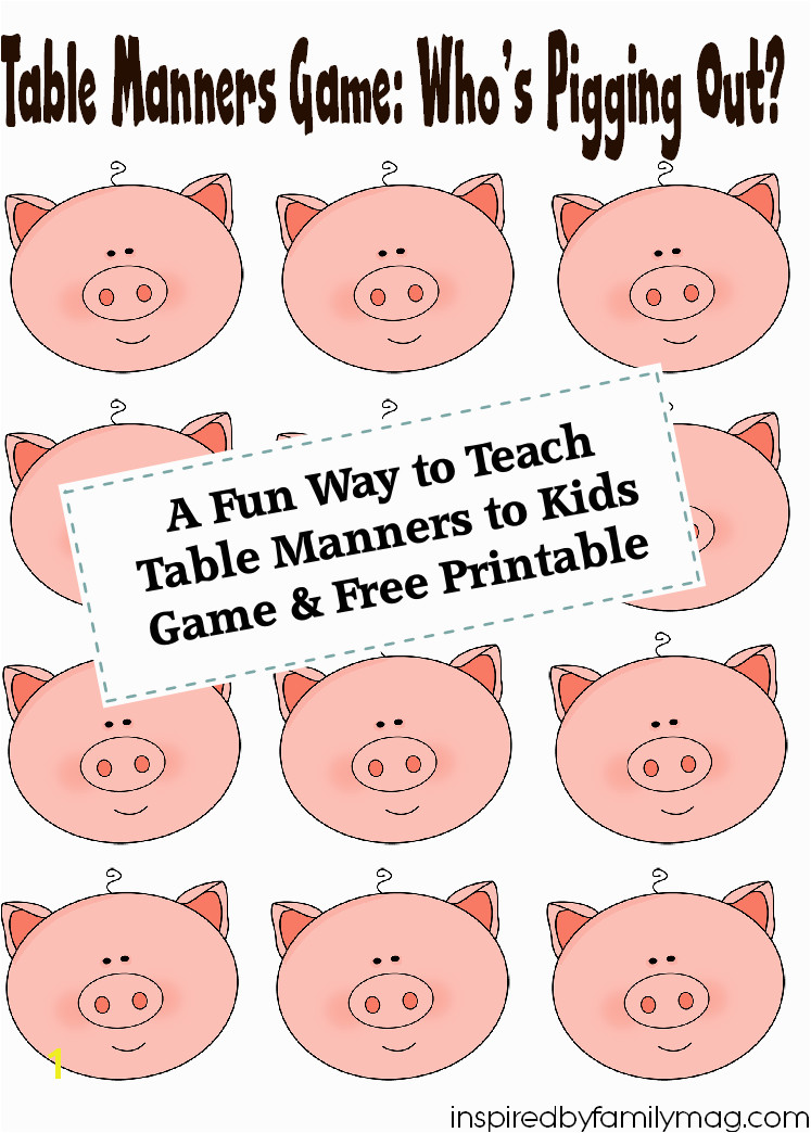 18 Fun Activities That Teach Good Manners