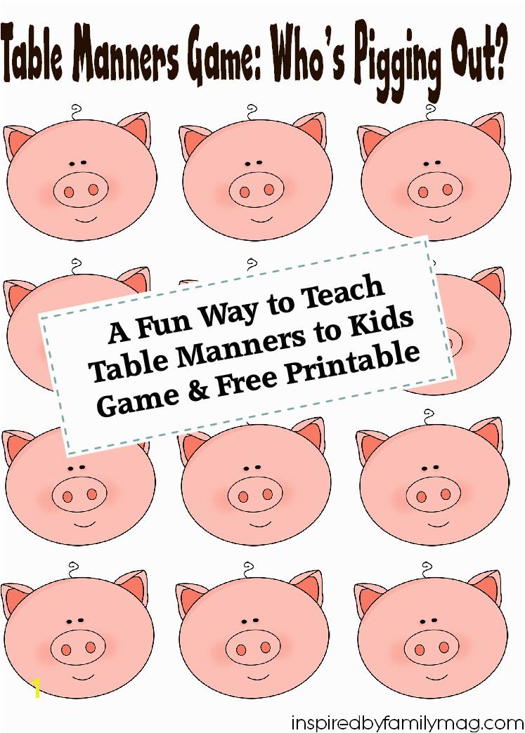 18 Fun Activities That Teach Good Manners