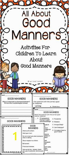 Help students learn positive behaviors with this All About Good Manners activity book behavior
