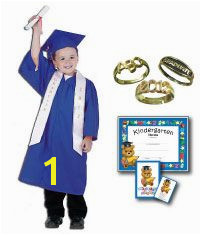 Check out this cute preschool graduation cap gown tassel diploma ring package