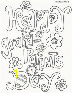 Print f a Free Grandparents Day Coloring Page Free Printable Grandparents Day Coloring Pages from Doodle Art Alley