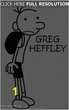 Beautiful Jeff Kinney s Diary of a Wimpy Kid Coloring Pages