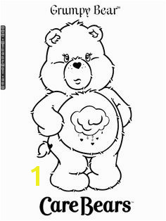Grumpy Bear Coloring Pages Free Printable Coloring Pages