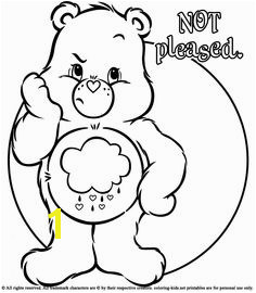 Grumpy Care Bear Coloring Pages 36 Best Bocsok Images On Pinterest