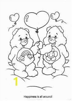 Grumpy Care Bear Coloring Pages 288