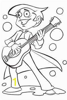 Guitar Coloring Pages Coloring Pages For Kids Coloring Sheets Adult Coloring Coloring Books