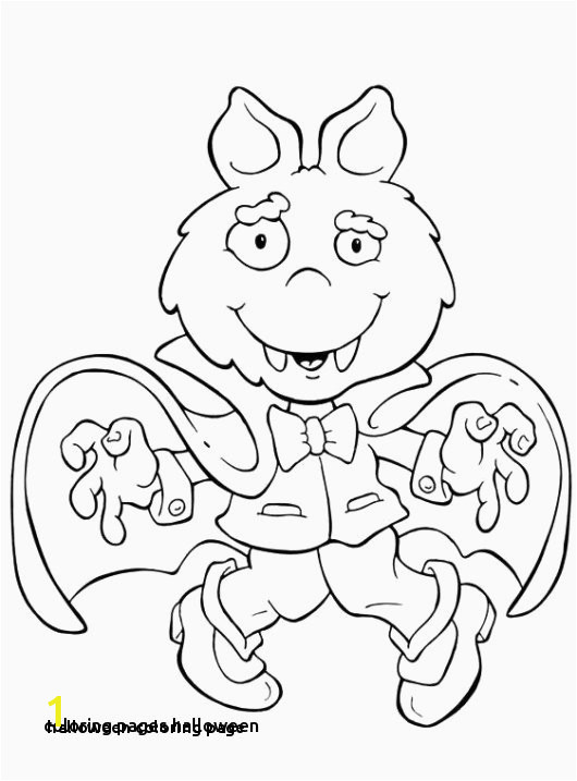 Halloween Coloring Contest Pages Halloween Coloring Page sophisticated Features Halloween Coloring