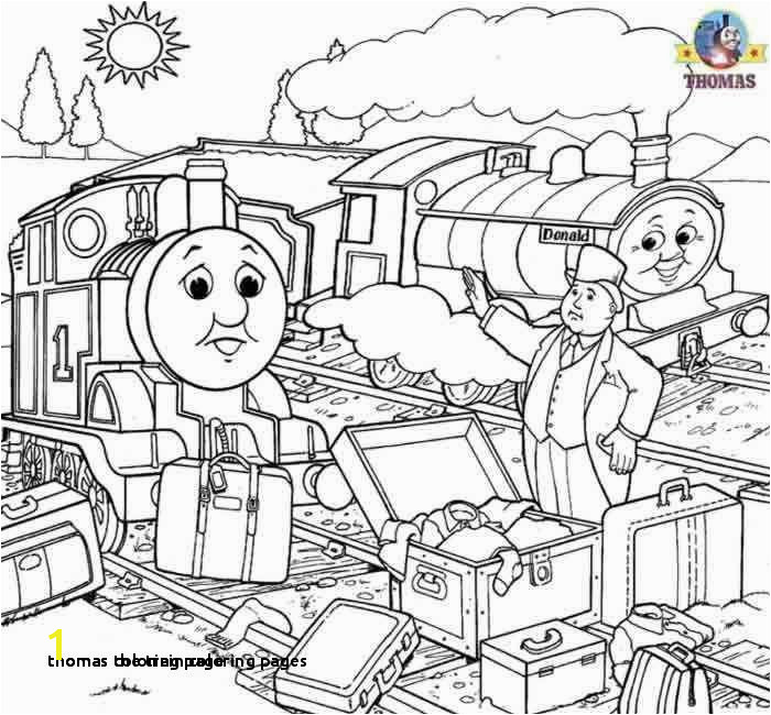 Thomas the Train Coloring Pages Thomas Coloring Page Thomas the Train Happy Birthday Coloring Pages