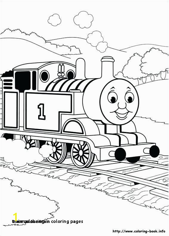 Thomas the Train Coloring Pages Train Colouring In Thomas the Tank Engine Coloring Pages toby