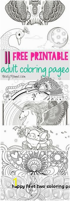 Happy Feet Two Coloring Pages Printable Robot Coloring Page Kid Stuff Pinterest