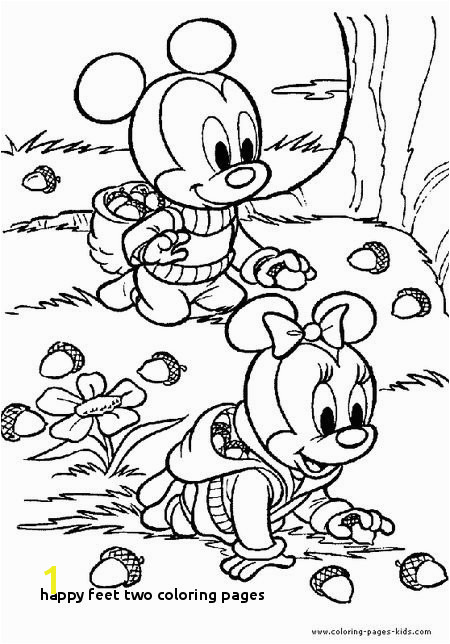Happy Feet Two Coloring Pages Happy Feet Two Coloring Pages 427 Free Autumn and Fall Coloring