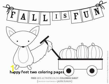 Happy Feet Two Coloring Pages 427 Free Autumn and Fall Coloring Pages You Can Print