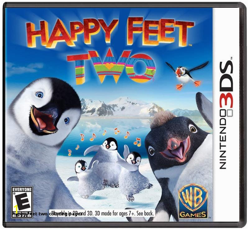 Amazon Happy Feet Two The Videogame Nintendo 3DS Video Games