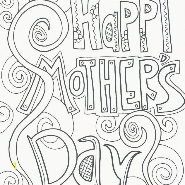 "A coloring page that says ""Happy Mother s Day"""