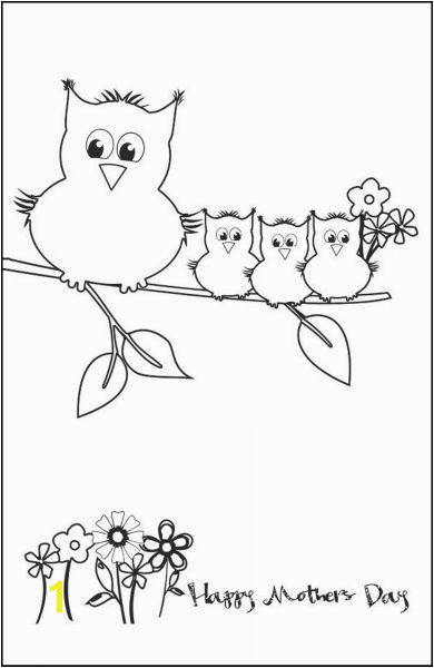 Happy Mothers Day Coloring Pages for toddlers Mothers Day Card Printables for Kids – Free Printable Mothers Day