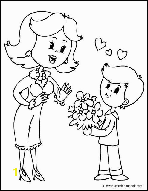 You can color this picture in online at Printing the finished coloring page at half or quarter size makes a perfect Mother s Day