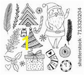 Happy New Year Colouring Pages Santa Claus Coloring Page Free Stock Public Domain