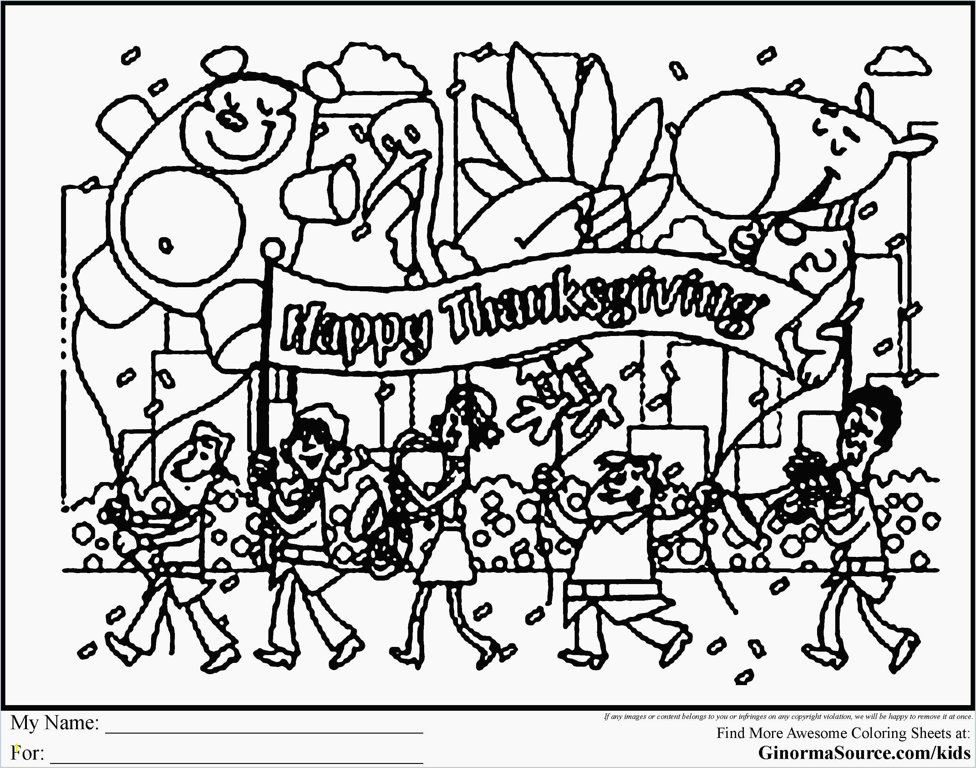 Free Printable Thanksgiving Coloring Pages Elegant Turkey Coloring Pages for Preschoolers Unique 10 Free Printable