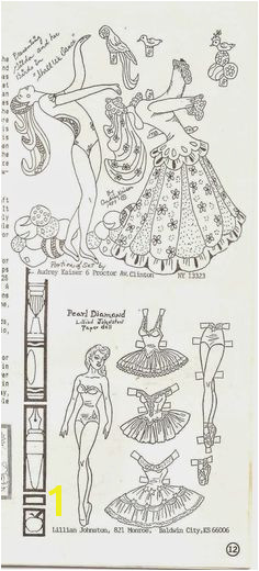 This single page paper doll is from Golden magazine and is dated It features a boy and girl each with one outfit