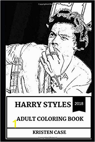 Harry Styles Adult Coloring Book e Direction Singer and Teen Pop Idol X Factor Star and Cultural Icon Inspired Adult Coloring Book Harry Styles Books