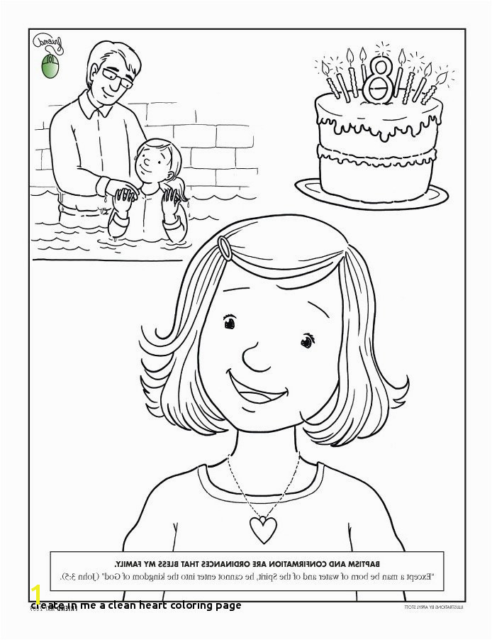 Create In Me A Clean Heart Coloring Page Awesome Coloring Pages