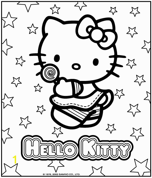 Hello Kitty Coloring Pages To use for the cake transfer or decor games