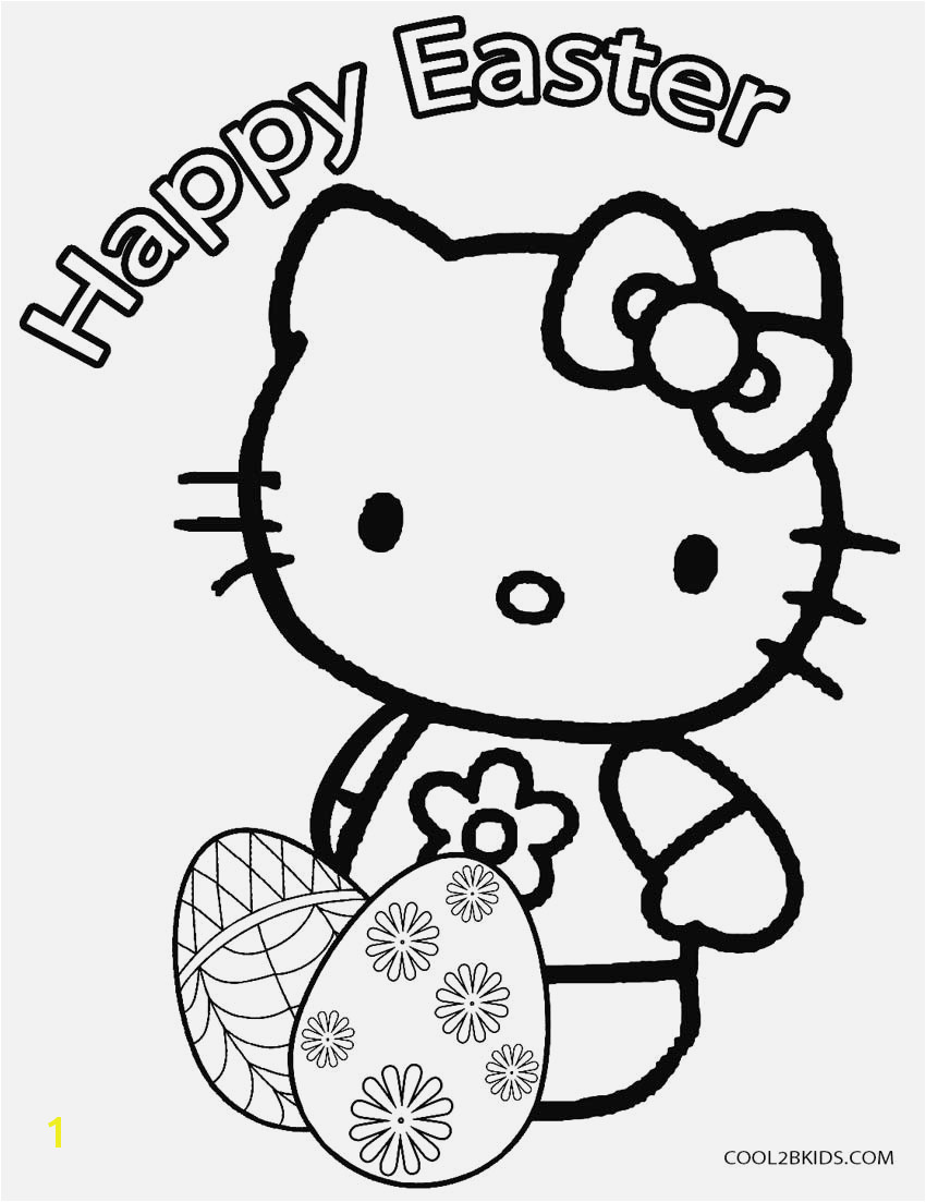 Hello Kitty Coloring Page Coloring & Activity Printable Coloring Page Easter 20 Hello Kitty Eggs Pages