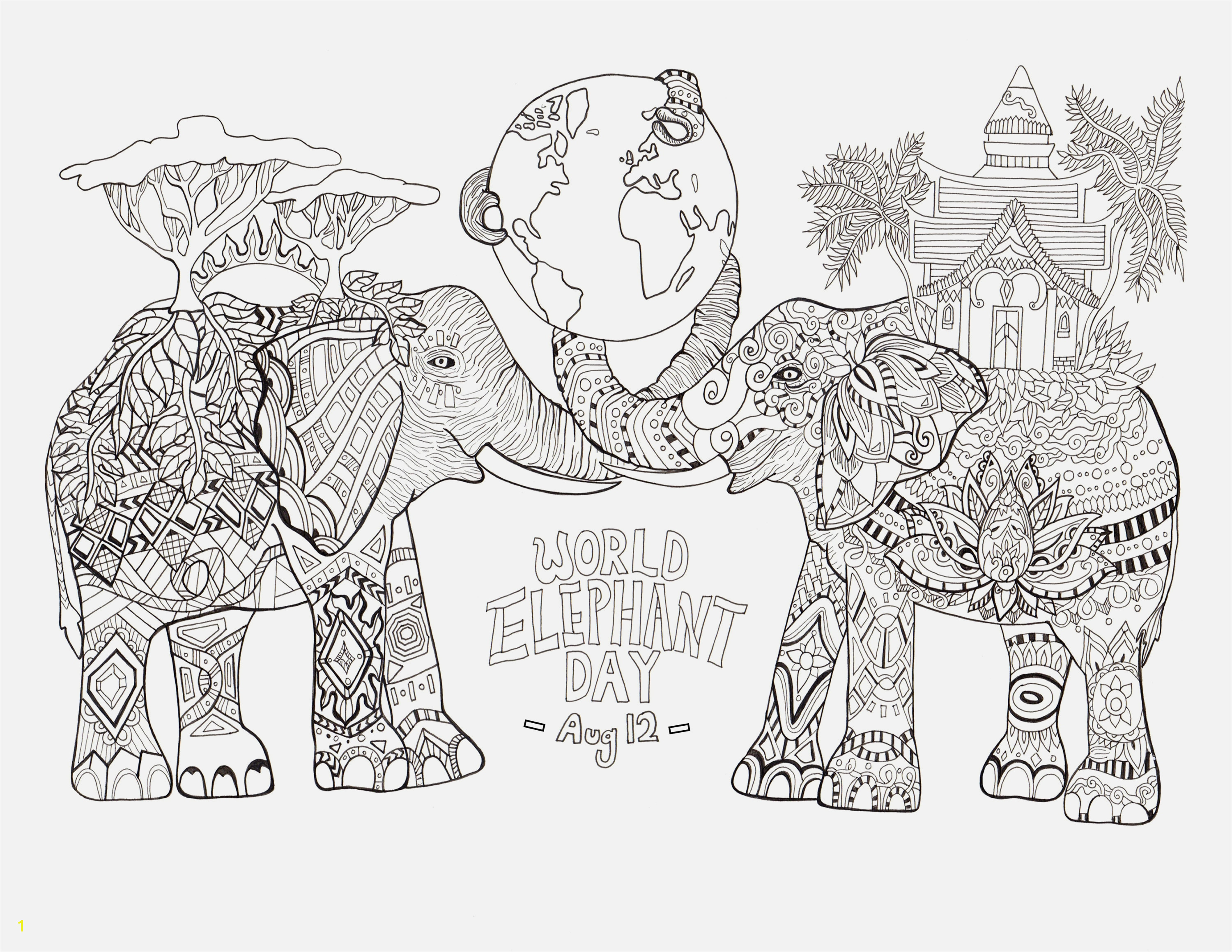 Hello Kitty Printable Coloring Pages Coloring & Activity Announcing Elephant Adult Coloring Pages 324 Best Colouring