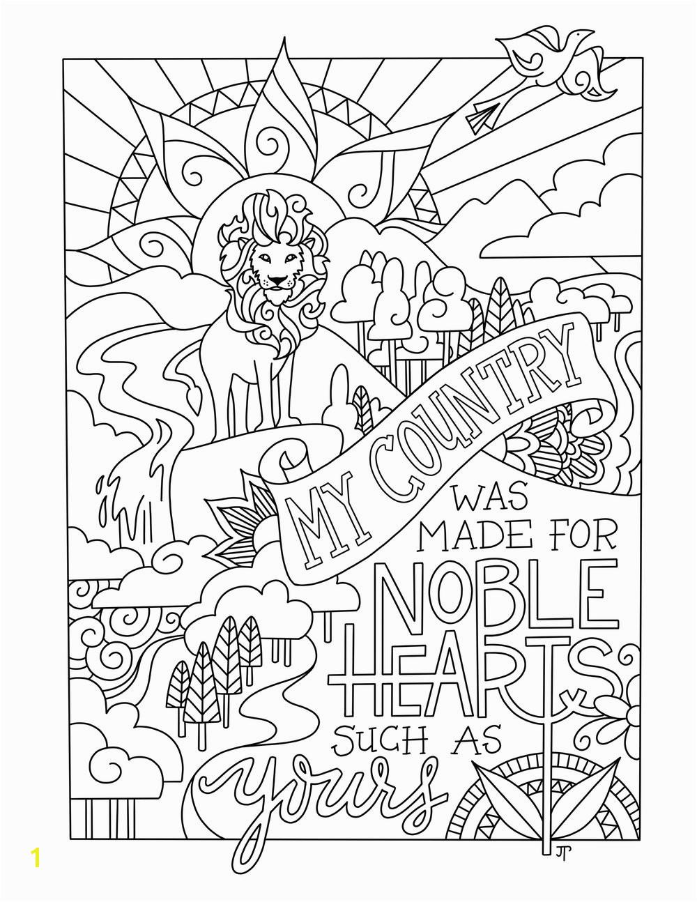 Narnia coloring page