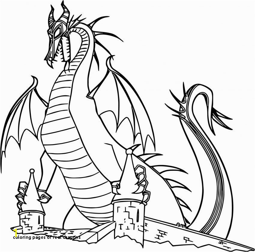 Coloring Pages Real Dragons Disney Coloring Pages Aurora Maleficent Dragon