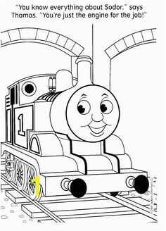 Image detail for Free Thomas The Train Coloring Pages Could be good to have
